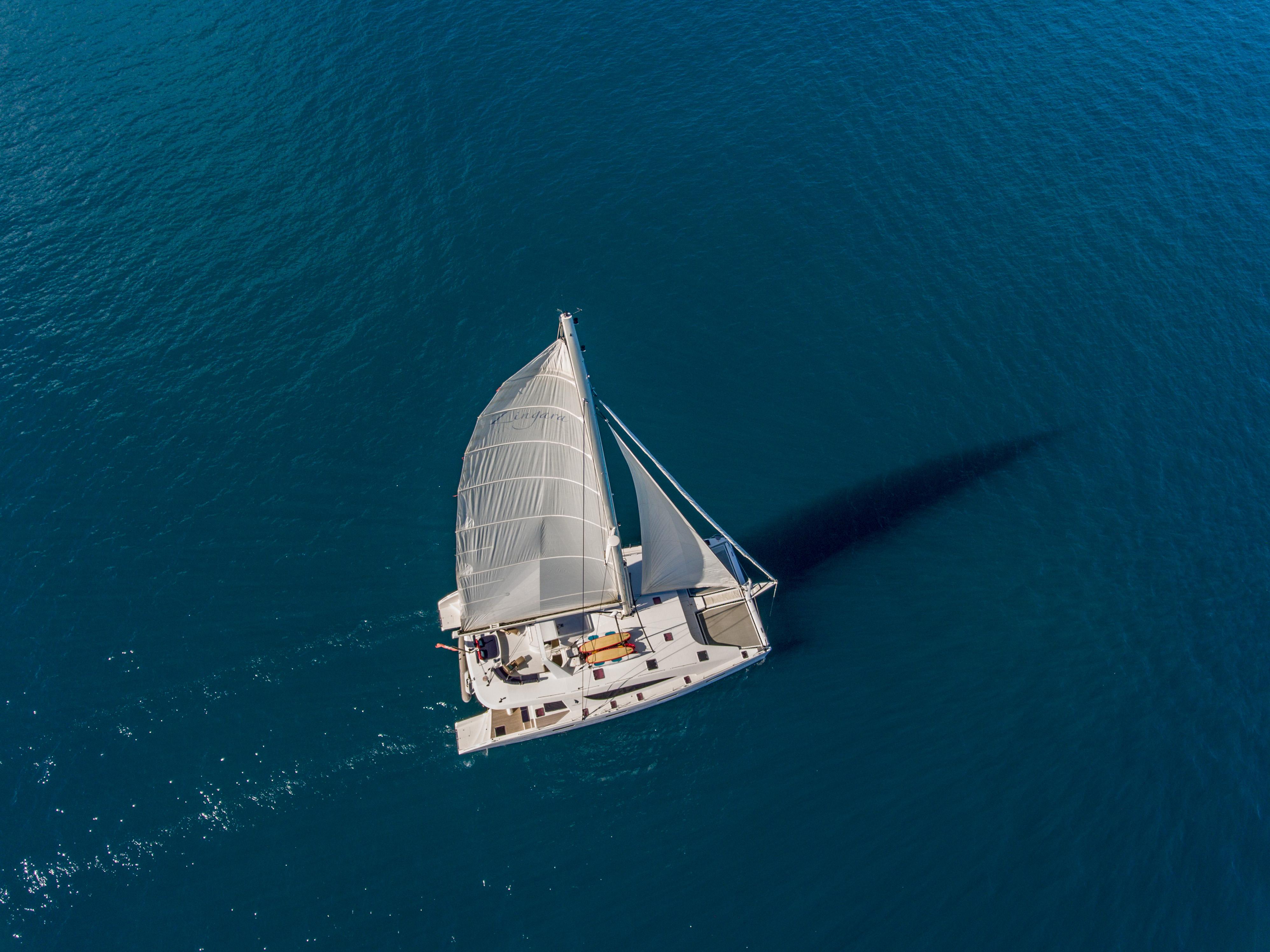 Zingara Yacht Charter - Aeriall