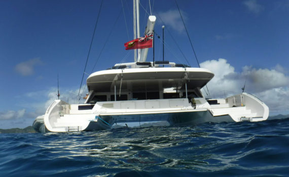 Zingara - a charter yacht based in the British Virgin Islands (BVI)